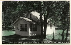 Cottage #12, Leonard Johnson's Fish Lake Resort