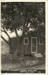 Cabin No. 1, Maager's Resort, Wood Lake