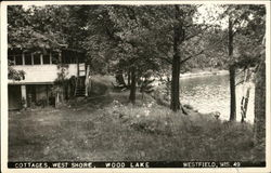 Cottages, West Shore, Wood Lake