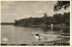 Weigel's Resort, Pleasant Lake