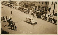 July 4th 1922 Parade on Main Street