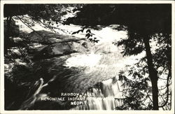 Rainbow Falls, Menominee Indian Reservation