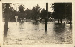 South Part of Ohio Street, Flooded
