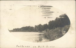 Red Banks on Wolf River Postcard