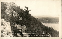 West Bluff from Near Turks Head Rock, Devils Lake State Park