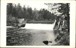 Dam At Lake Eau Claire