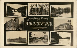 Greetings from Augusta, Wis.