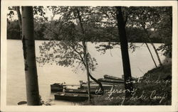 Boat Landing, Underson's Long Lake Camp