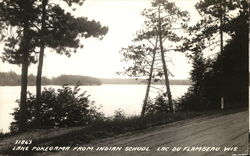 Lake Pokegama from Indian School