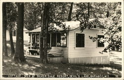 Cottage No. 9 at Silver-Dale Resort, Devil's Lake Postcard