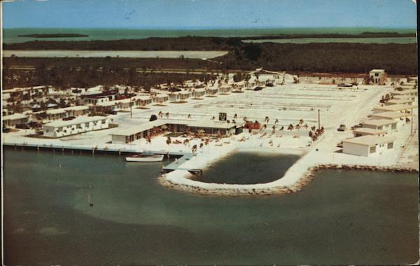 Aerial View of Marathon Shores Florida