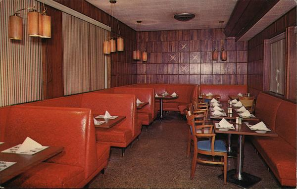 The Red Room, Buck's Famous Restaurant Asheville North Carolina