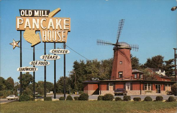 Old Mill Pancake House Annapolis Maryland
