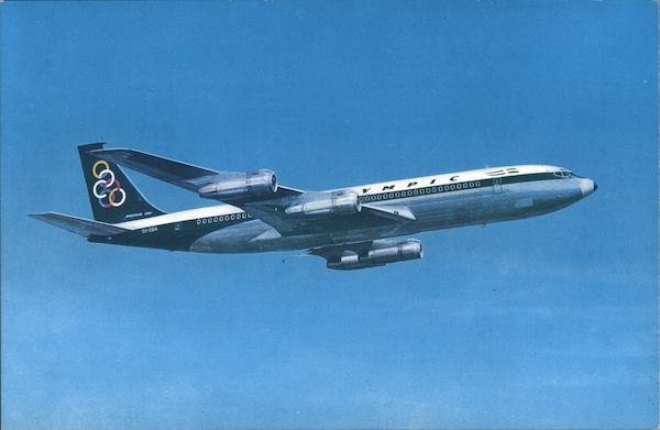 Olympic Airways Boeing 707-320 Super Fan Jet Aircraft