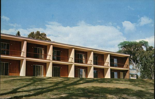 the university motor inn orono me postcard