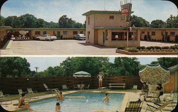 Plaza Motel Columbus Mississippi O C Campbell