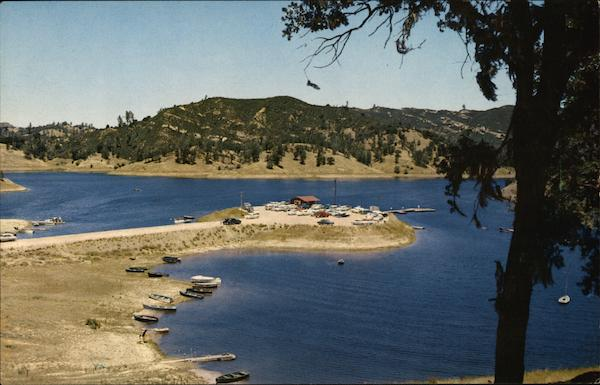 Santa Margarita Lake San Luis Obispo County California