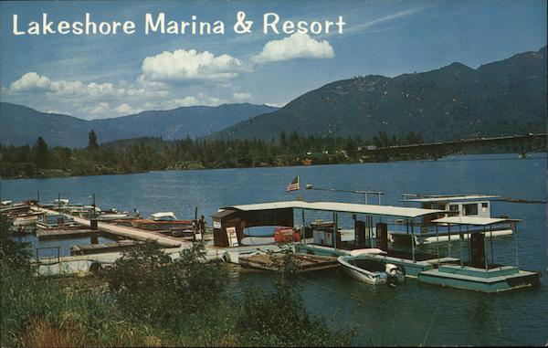 Lakeshore Marine & Resort Shasta Lake California Peter A. Baccilieri