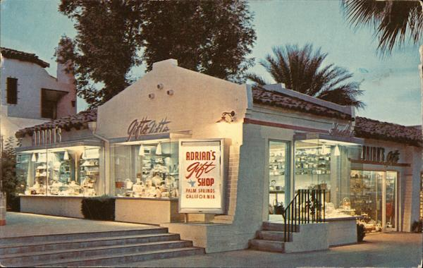 Adrian's Gift Shop Palm Springs California