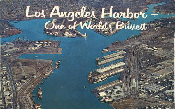Los Angeles Harbor San Pedro California
