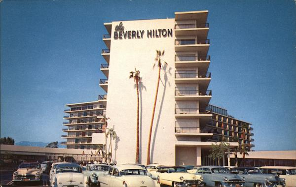 Beverly Hilton Hotel Beverly Hills California Emil Cuhel