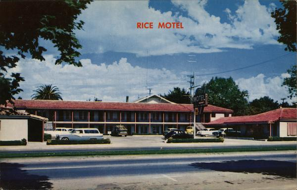 Rice Motel Marysville California