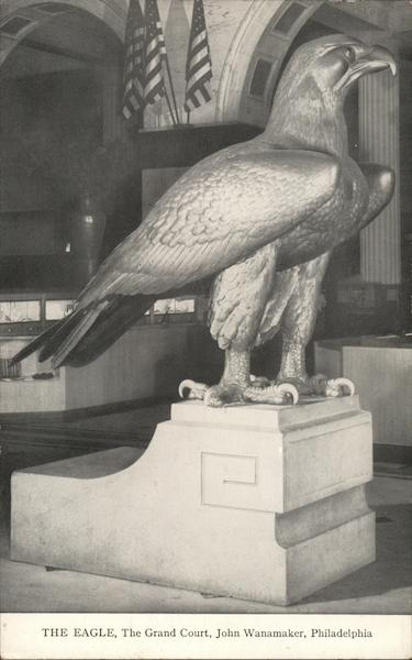 The Eagle, The Grand Court, John Wanamaker Main Store Philadelphia Pennsylvania