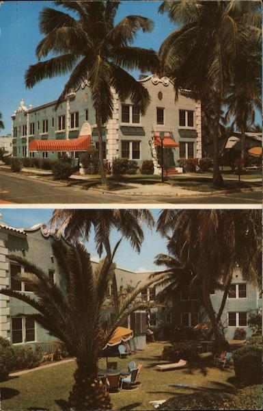 Trianon Hotel Hollywood Florida Neel Color Photo