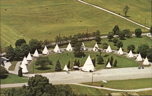 Wigwam Village #2 Cave City Kentucky