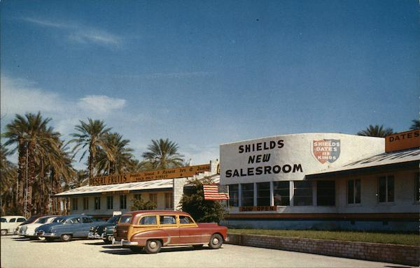 Shields Date Garden and Showroom Palm Springs California
