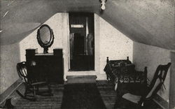 Boys' Room, Showing the Rafter Room at Right Postcard