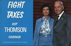 Fight Taxes - Keep Thompson Governor