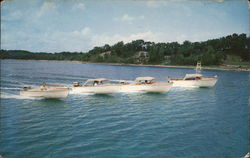 Outboard Boats by Dunphy Boat Corporation Postcard