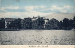 Shagbark and Own Lake Postcard