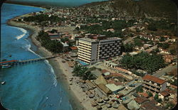 Air View of Puerto Vallarta Postcard