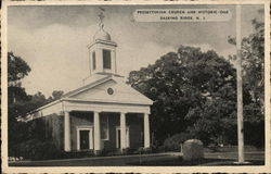 Presbyterian Church and Historic Oak