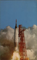 Launch of NASA Mercury Atlas 6