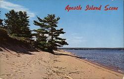 Apostle Island Scene