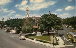 Kansas City's Beautiful Country Club Plaza Postcard