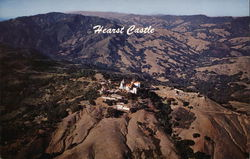 Aerial View of Hearst Castle