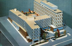 Jack Tar Hotel of San Francisco Postcard