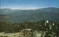 Aerial View of the Top of Mount Wilson