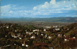 San Fernando Valley from the Hollywood Hills