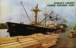 World's Largest Lumber Shipping Port