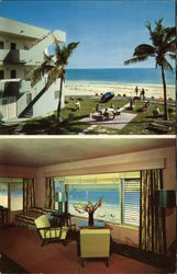 Sands Motel and Apartments Postcard