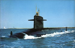 U.S.S. Thomas Jefferson - Strategic Missile Submarine