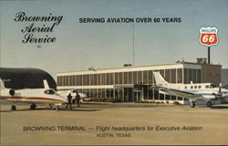 Browning Aerial Service, Municipal Airport