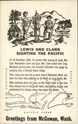 Lewis & Clark Sighting the Pacific