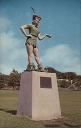 Statue of Peter Pan Honoring Mary Martin