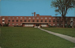 Kate Myers Hall, Girls Dormitory, Ashland College Postcard